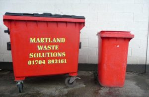 Commercial trade waste bins from Martland Skip Hire come in a variety of sizes to suit every business