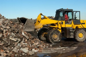 Crushed brick & Top Soil from Martland Waste Solutions - Burscough Skip Hire & Recycling
