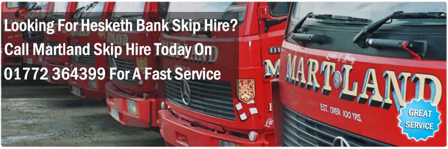 Hesketh Bank Skip Hire