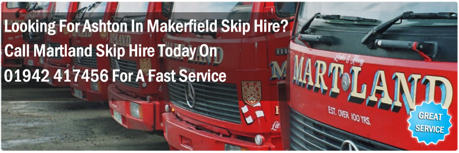 Ashton In Makerfield Skip Hire