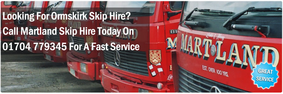 Choosing A Skip Hire Ormskirk Company
